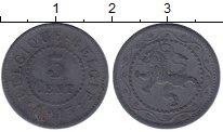 Изображение Монеты Бельгия 5 сентим 1915 Цинк XF