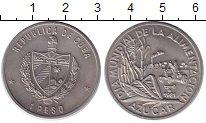 Изображение Монеты Куба 1 песо 1981 Медно-никель UNC