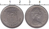 Изображение Монеты Родезия 10 центов 1964 Медно-никель XF