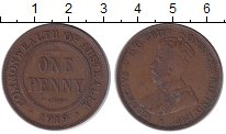 Изображение Монеты Австралия 1 пенни 1919 Бронза XF- Георг V