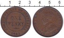 Изображение Монеты Австралия 1 пенни 1922 Бронза XF- Георг V