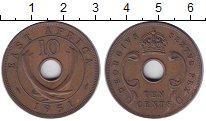 Изображение Монеты Восточная Африка 10 центов 1951 Бронза XF