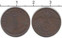 Изображение Монеты Германия Третий Рейх 1 пфенниг 1940 Бронза XF
