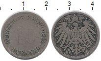 Изображение Монеты Германия 10 пфеннигов 1892 Медно-никель VF