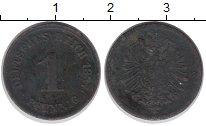 Изображение Монеты Германия 1 пфенниг 1887 Медь VF