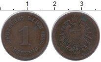Изображение Монеты Германия 1 пфенниг 1888 Медь VF