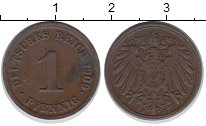 Изображение Монеты Германия 1 пфенниг 1909 Медь XF