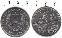 Изображение Монеты Гвинея-Бисау 2000 песо 1995 Медно-никель UNC