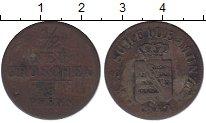 Изображение Монеты Саксония 1/2 гроша 1843 Серебро VF
