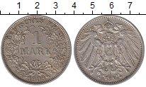 Изображение Монеты Германия 1 марка 1906 Серебро XF