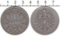 Изображение Монеты Германия 1 марка 1878 Серебро VF