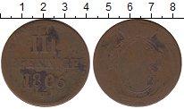 Изображение Монеты Германия Саксония 3 пфеннига 1806 Медь VF