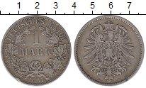 Изображение Монеты Германия 1 марка 1887 Серебро XF-