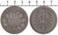 Изображение Монеты Германия 1 марка 1885 Серебро VF