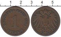 Изображение Монеты Германия 1 пфенниг 1895 Медь XF-