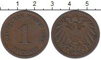 Изображение Монеты Германия 1 пфенниг 1893 Медь XF-
