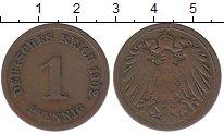 Изображение Монеты Германия 1 пфенниг 1902 Медь XF-