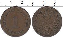 Изображение Монеты Германия 1 пфенниг 1899 Медь XF