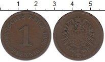 Изображение Монеты Германия 1 пфенниг 1885 Медь XF