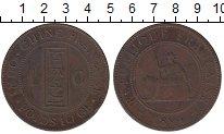 Изображение Монеты Индокитай 1 цент 1894 Бронза XF-