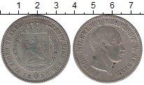 Изображение Монеты Гессен-Кассель 1/6 талера 1852 Серебро XF