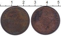 Изображение Монеты Германия Саксония 5 пфеннигов 1869 Медь XF