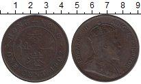 Изображение Монеты Гонконг 1 цент 1902 Бронза XF-