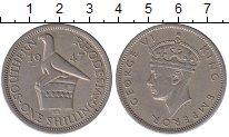 Изображение Монеты Родезия 1 шиллинг 1947 Медно-никель XF- Георг VI