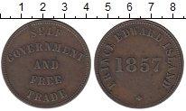 Изображение Монеты Канада Остров Принца Эдварда 1/2 пенни 1857 Медь XF