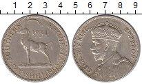 Изображение Монеты Родезия 2 шиллинга 1934 Серебро XF