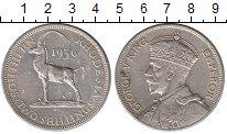 Изображение Монеты Родезия 2 шиллинга 1936 Серебро XF Саблевидная антилопа