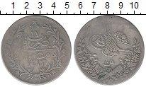 Изображение Монеты Египет 10 кирш 1889 Серебро VF