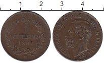 Изображение Монеты Италия 1 сентесимо 1867 Медь XF