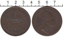 Изображение Монеты Швеция 2/3 скиллинга 1855 Медь XF-