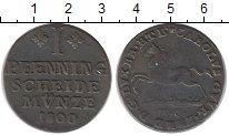 Изображение Монеты Брауншвайг-Вольфенбюттель 1 пфенниг 1800 Медь VF