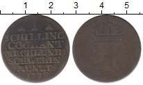 Изображение Монеты Германия Мекленбург-Шверин 1 шиллинг 1778 Серебро VF