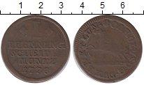 Изображение Монеты Брауншвайг-Вольфенбюттель 1 пфенниг 1773 Медь VF