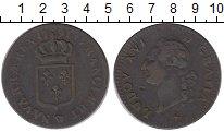 Изображение Монеты Франция 1 соль 1791 Медь XF