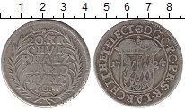 Изображение Монеты Германия Пфальц-Сульбах 20 крейцеров 1724 Серебро XF-