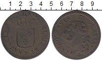 Изображение Монеты Франция 1 соль 1785 Медь XF- Людовик XVI