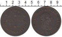 Изображение Монеты Остров Мэн 1/2 пенни 1830 Медь XF