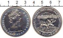 Изображение Монеты Канада 1 доллар 1985 Серебро XF