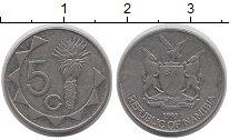 Изображение Монеты Намибия 5 центов 1993 Медно-никель XF