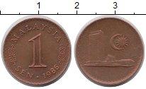 Изображение Монеты Малайзия Малайзия 1986 Медь XF