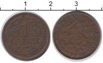 Изображение Монеты Нидерланды 1 цент 1916 Медь XF