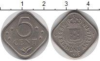Изображение Монеты Антильские острова 5 центов 1975 Медно-никель XF