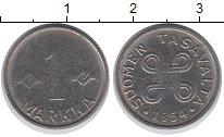 Изображение Монеты Финляндия 1 марка 1954 Медно-никель XF