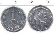Изображение Монеты Чили 1 песо 2008 Алюминий XF
