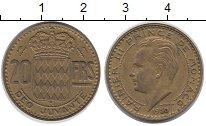 Изображение Монеты Монако 20 франков 1950 Медь XF