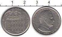 Изображение Монеты Монако 1 франк 1960 Медно-никель XF Принц Ренье III